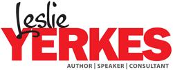 Leslie Yerkes, author, speaker, consultant.